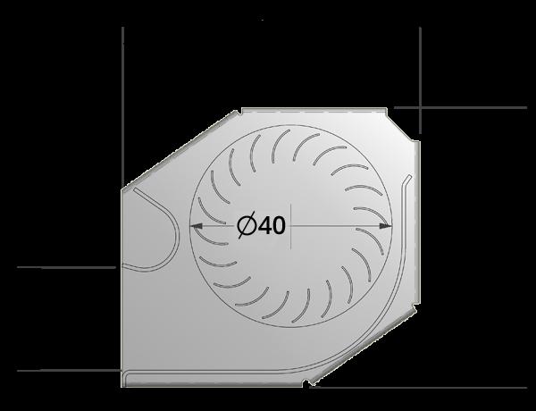 40mm crossflow fan by Airtek